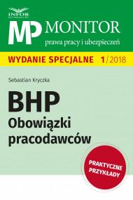 okładka BHP Obowiązki pracodawców, Ebook | Sebastian Kryczka