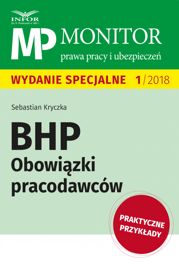 okładka BHP Obowiązki pracodawcówebook | PDF | Sebastian Kryczka