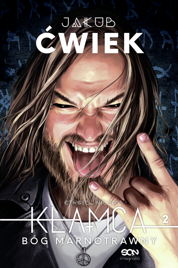 okładka Kłamca 2ebook | EPUB, MOBI | Jakub Ćwiek