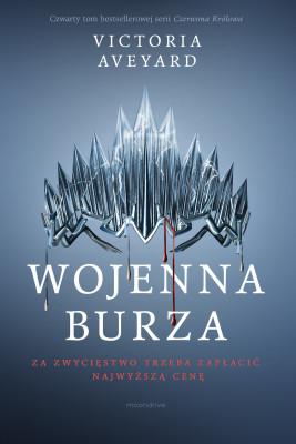 okładka Wojenna burza, Ebook | Victoria Aveyard