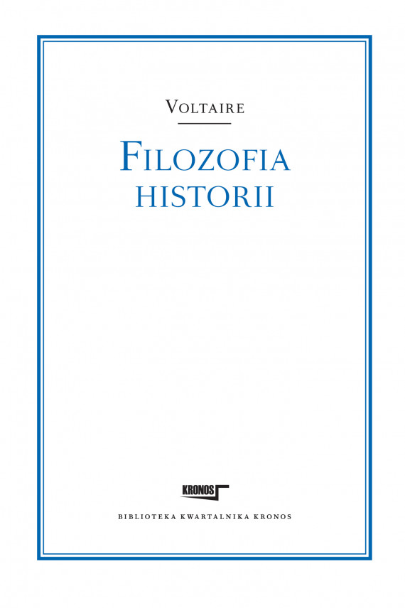 okładka Filozofia historiiebook   EPUB, MOBI   Voltaire Voltaire, Marian Skrzypek