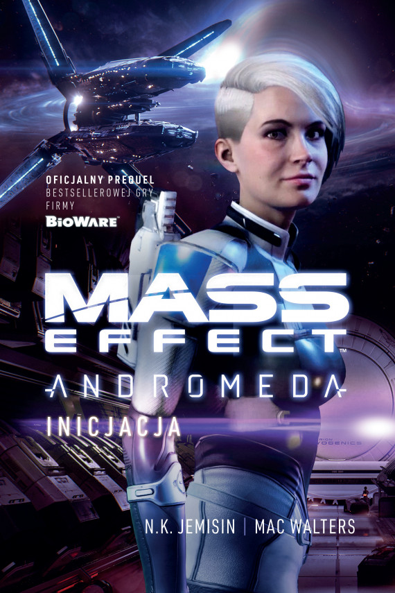 okładka Mass Effect. Anromeda: Inicjacjaebook | EPUB, MOBI | N.K. Jemisin, Dominika Repeczko, Mac Walters
