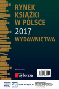 okładka Rynek książki w Polsce 2017. Wydawnictwa, Ebook   Paweł  Waszczyk