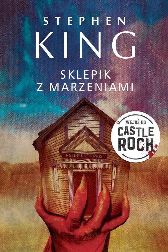 okładka SKLEPIK Z MARZENIAMIebook | EPUB, MOBI | Stephen King, Krzysztof Sokołowski