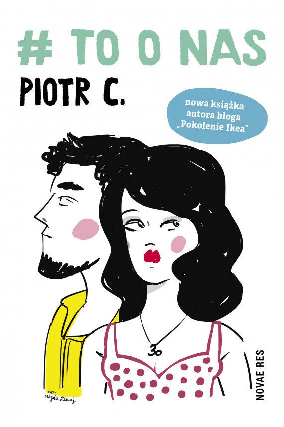 okładka # to o nas. Ebook | EPUB, MOBI | Piotr  C