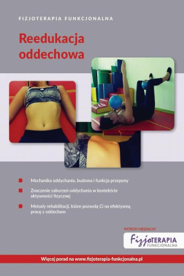 okładka Fizjoterapia Funkcjonalna. Reedukacja oddechowa, Ebook | Praca Zbiorowa