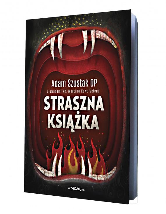 okładka Straszna książkaebook | EPUB, MOBI | Adam Szustak, Marcin Kowalski