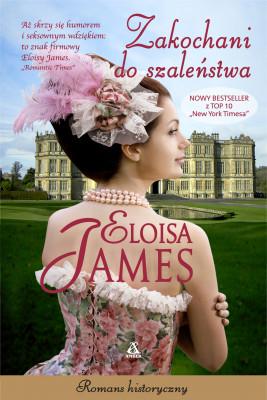 okładka Zakochani do szaleństwa, Ebook | Eloisa James