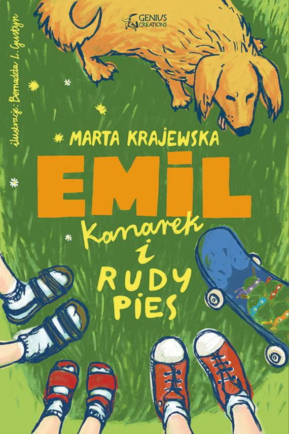 okładka Emil, kanarek i rudy piesebook   EPUB, MOBI   Marta Krajewska
