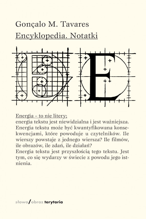 okładka Encyklopedia. Notatkiebook | EPUB, MOBI | Gonçalo M. Tavares