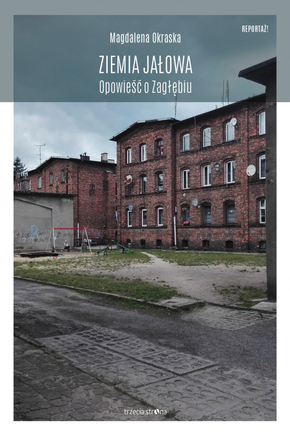 okładka Ziemia jałowaebook | EPUB, MOBI | Magdalena Okraska