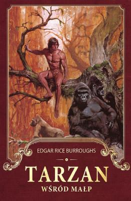 okładka Tarzan wśród małp, Ebook | Edgar Rice Burroughs