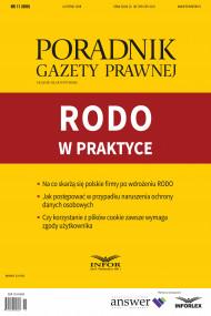 okładka RODO w praktyce, Ebook | Kamila Kozera, Katarzyna Pośpiech-Białas, Piotr Ostafi, Bartosz Wojciechowski