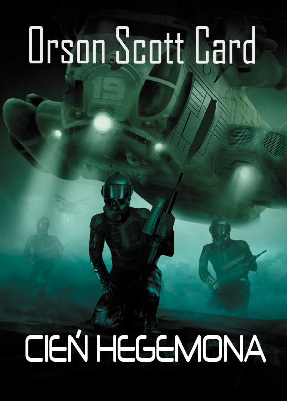 okładka Cień Hegemonaebook | EPUB, MOBI | Orson Scott Card