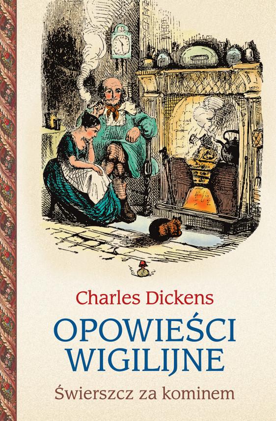 okładka Opowieści wigilijne 2. Świerszcz za kominemebook | EPUB, MOBI | Charles Dickens, Jerzy Łoziński
