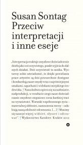 okładka Przeciw interpretacji i inne eseje, Ebook | Susan Sontag, Dariusz Żukowski, Małgorzata Pasicka, Anna Skucińska, Przemek Dębowski