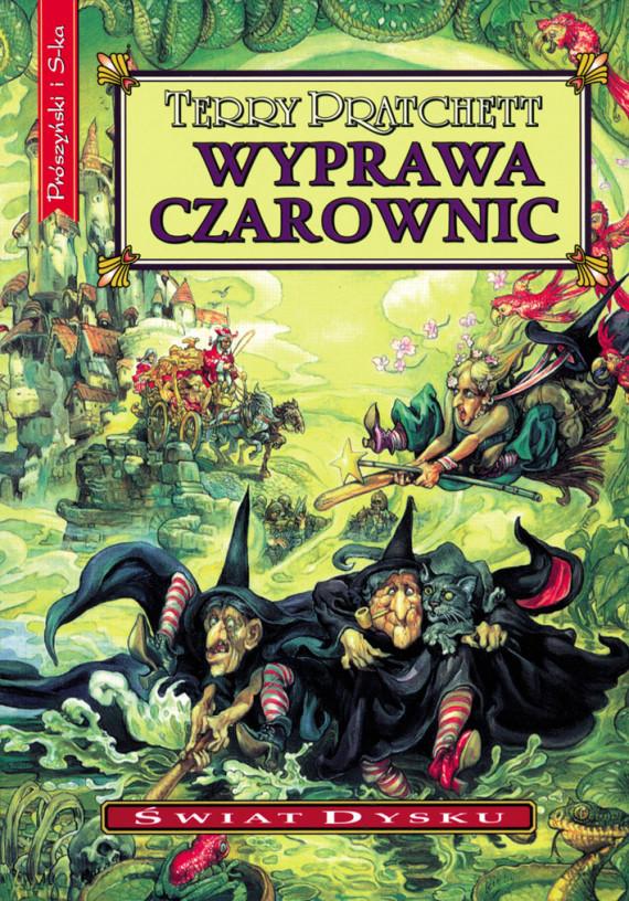okładka Wyprawa czarownicebook   EPUB, MOBI   Terry Pratchett, Piotr W. Cholewa
