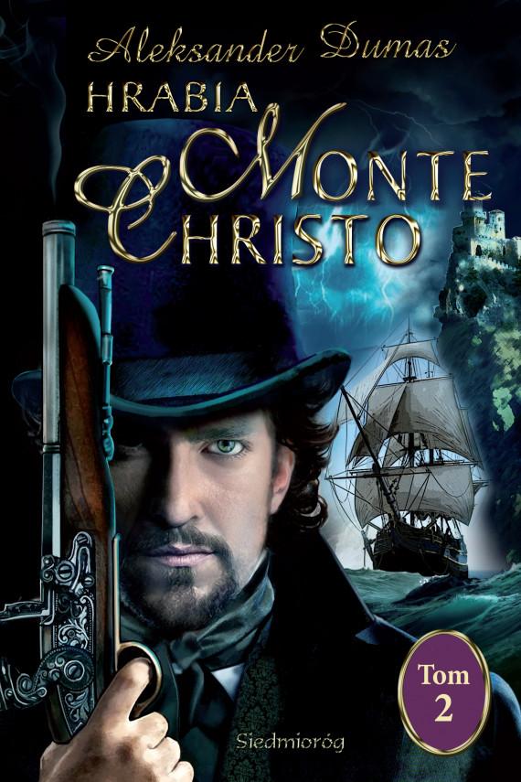 okładka Hrabia Monte Christo tom II. Ebook | EPUB, MOBI | Aleksander  Dumas