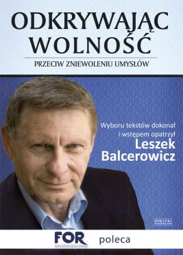 okładka Odkrywając wolność. Przeciw zniewoleniu umysłów, Ebook | Leszek Balcerowicz