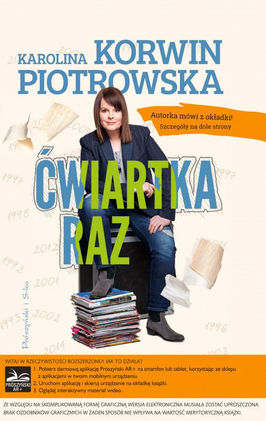 okładka Ćwiartka razebook | EPUB, MOBI | Karolina Korwin-Piotrowska