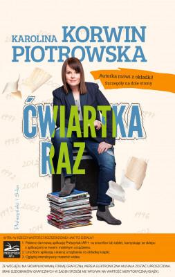 okładka Ćwiartka raz, Ebook | Karolina Korwin-Piotrowska