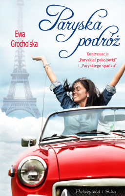 okładka Paryska podróż, Ebook | Ewa  Grocholska