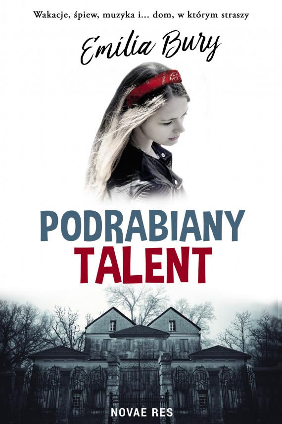 okładka Podrabiany talentebook | EPUB, MOBI | Emilia Bury