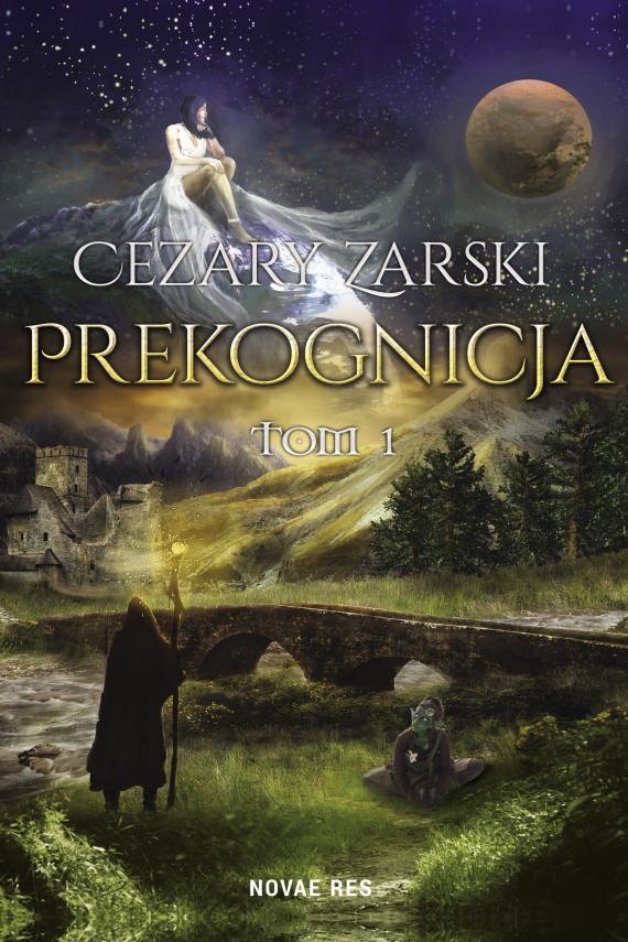 okładka Prekognicja Tom Iebook | EPUB, MOBI | Cezary Zarski