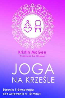 okładka Joga na krześle - PDF, Ebook | McGee Kristin