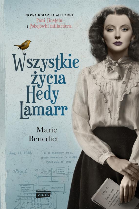 okładka Wszystkie życia Hedy Lamarrebook   EPUB, MOBI   Marie Benedict