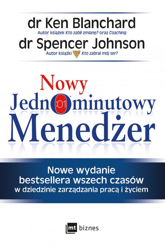 okładka Nowy Jednominutowy Menedżerebook | EPUB, MOBI | Spencer Johnson, Ken Blanchard