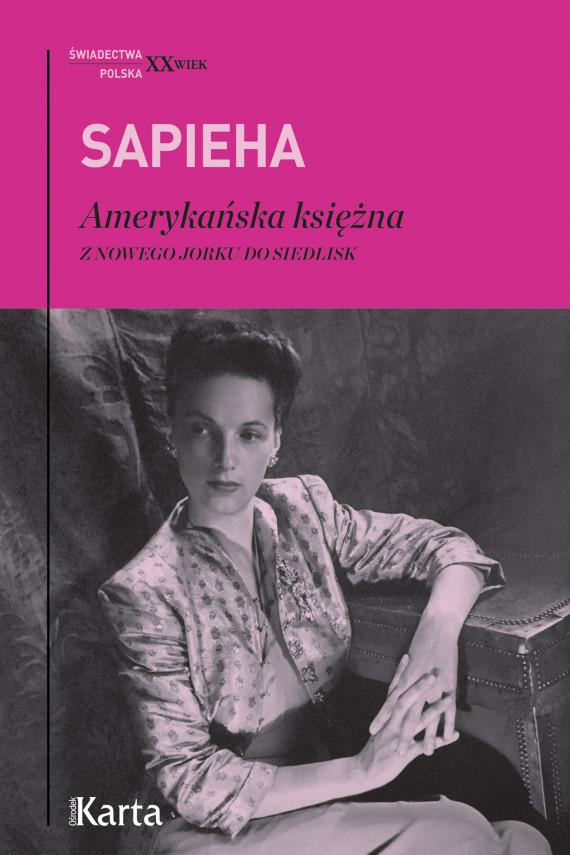 okładka Amerykańska księżnaebook | EPUB, MOBI | Sapieha Virgilia