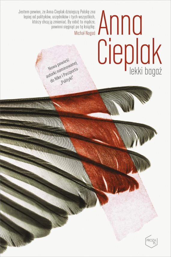 okładka Lekki bagażebook   EPUB, MOBI   Anna Cieplak