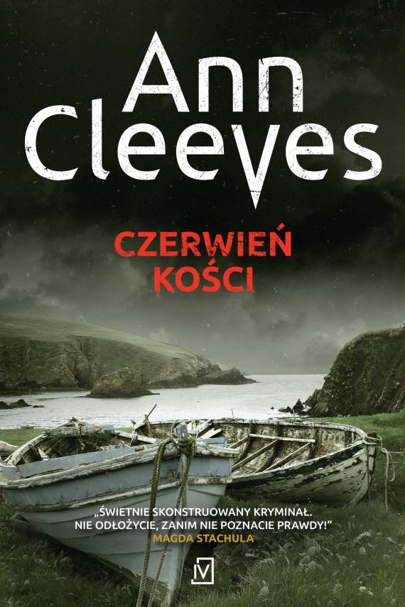 okładka Czerwień kościebook | EPUB, MOBI | Ann Cleeves
