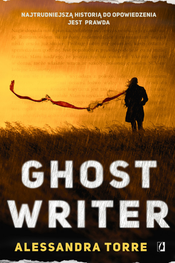 okładka Ghostwriterebook   EPUB, MOBI   Alessandra Torre