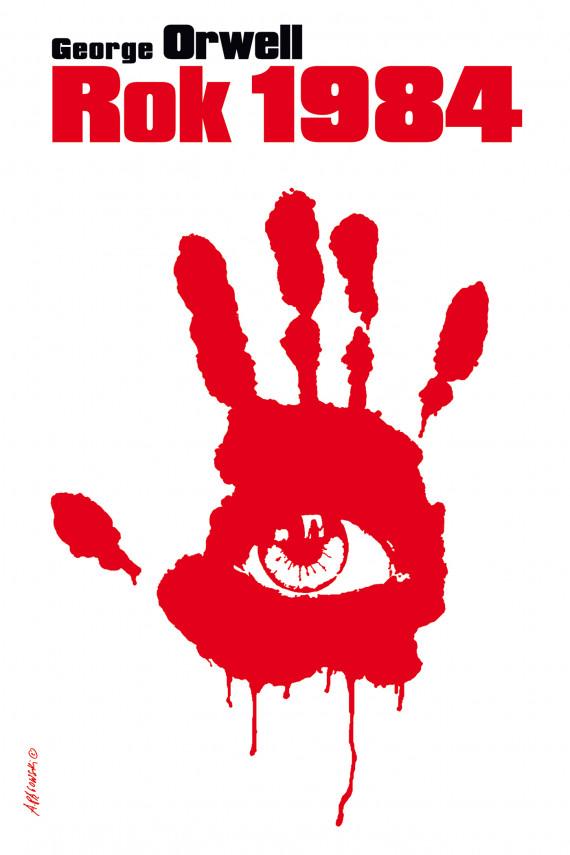 okładka Rok 1984ebook | EPUB, MOBI | George Orwell, Tomasz  Mirkowicz
