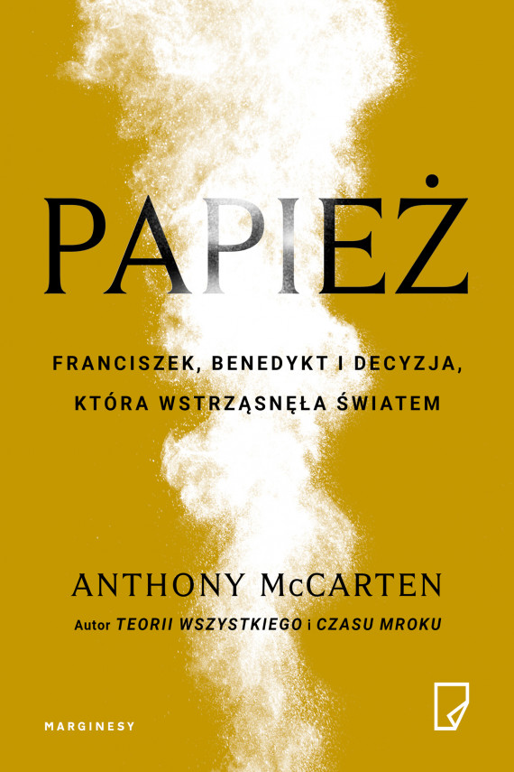 okładka Papieżebook   EPUB, MOBI   Maria Jaszczurowska, Jan Wąsiński, Anthony  McCarten