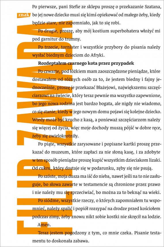 okładka Rozdeptałem czarnego kota przez przypadekebook | EPUB, MOBI | Filip Zawada