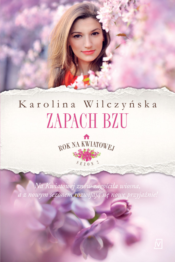 okładka Rok na Kwiatowej. Tom 5. Zapach bzuebook | EPUB, MOBI | Karolina Wilczyńska