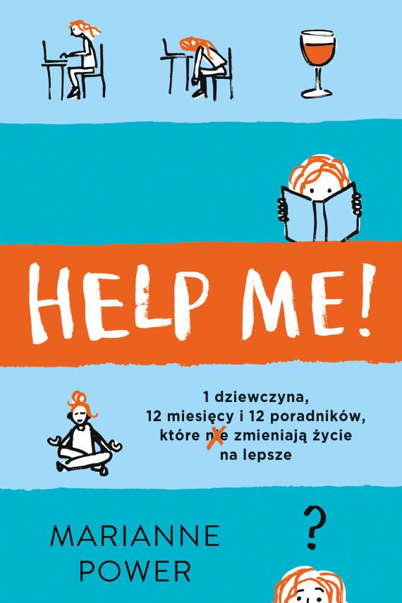 okładka Help Me!ebook   EPUB, MOBI   Adriana Celińska, Marianne  Power