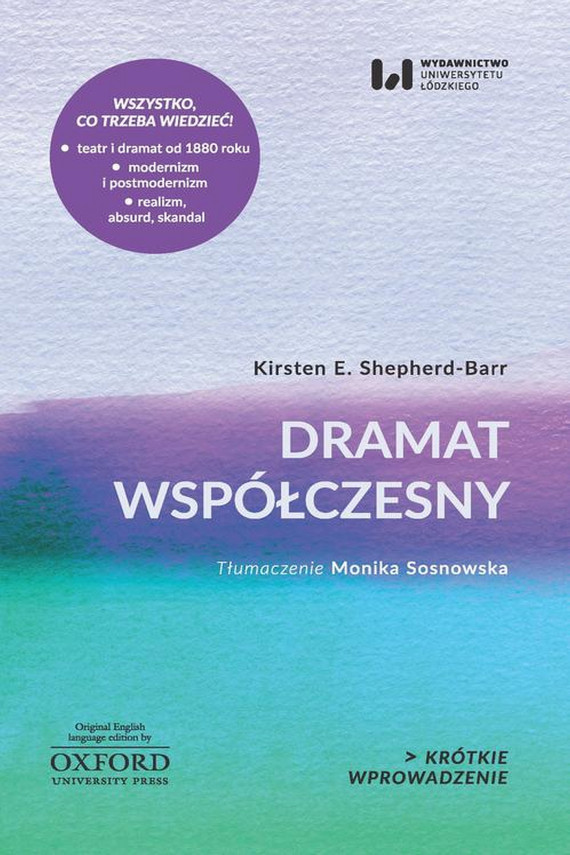 okładka Dramat współczesnyebook   EPUB, MOBI   Kirsten E. Shepherd-Barr