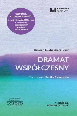 okładka Dramat współczesny, Ebook | Kirsten E. Shepherd-Barr