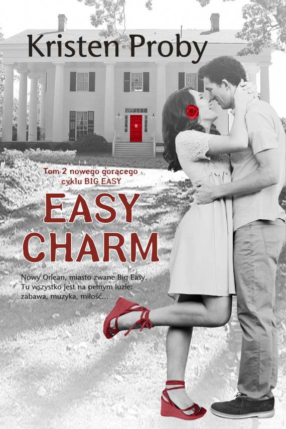 okładka Easy Charmebook | EPUB, MOBI | Kristen Proby, Gabriela Iwasyk