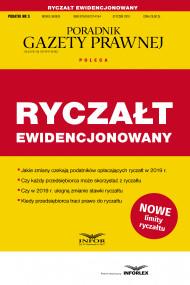 okładka Ryczałt ewidencjonowany, Ebook | praca  zbiorowa