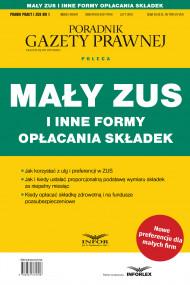 okładka Mały ZUS i inne formy opłacania składek, Ebook | praca  zbiorowa