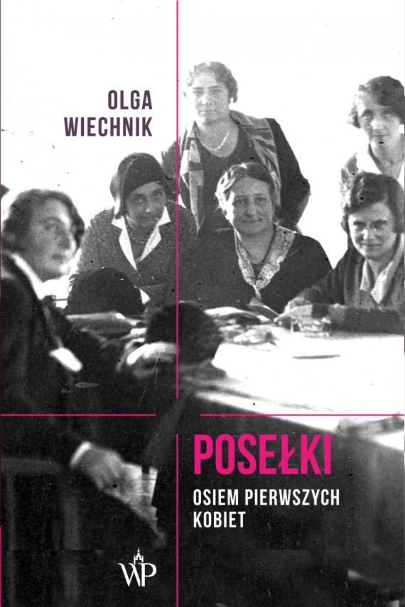 okładka Posełki. Osiem pierwszych kobietebook | EPUB, MOBI | Wiechnik Olga