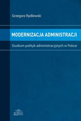 okładka Modernizacja administracji, Ebook | Grzegorz  Rydlewski
