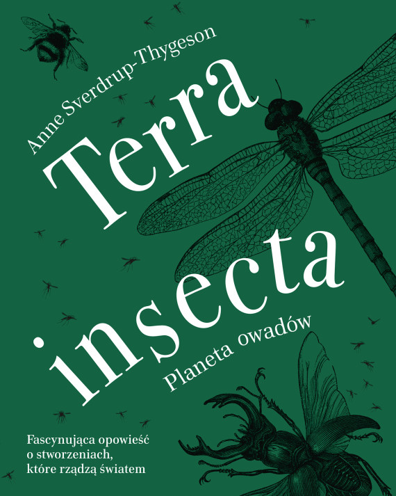 okładka Terra insectaebook | EPUB, MOBI | Anne Sverdrup-Thygeson