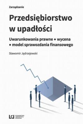 okładka Przedsiębiorstwo w upadłości, Ebook | Sławomir  Jędrzejewski