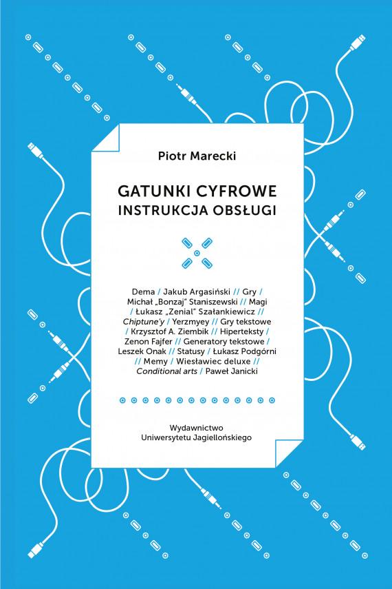 okładka Gatunki cyfroweebook   PDF   Piotr  Marecki